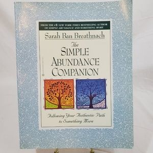 The Simple Abundance Companion Book Warner Books